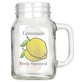 De Verse Gedrukte (Gepersonaliseerde) Limonade van Mason Jar