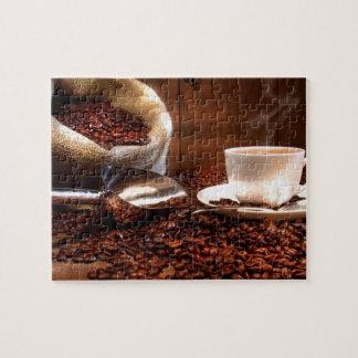 De verse Koffie van de Grond Puzzel