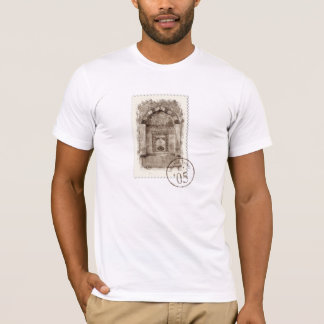 De versierd Fontein van het Water T Shirt
