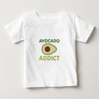 De Verslaafde van de avocado Baby T Shirts