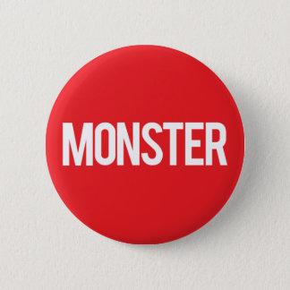 De Verslagen van het monster Ronde Button 5,7 Cm