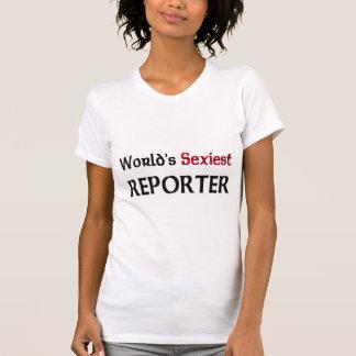 De Verslaggever van Sexiest van de wereld T Shirt