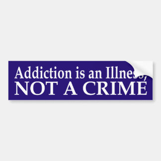 De verslaving is een Sticker van de Bumper van de