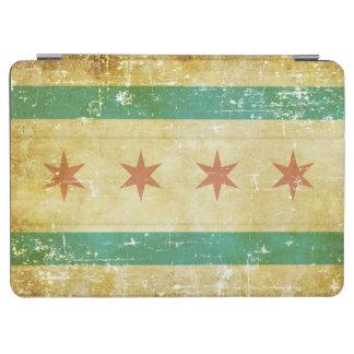 De versleten Patriottische Vlag van Chicago iPad Air Cover