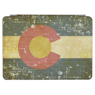 De versleten Patriottische Vlag van de Staat van iPad Air Cover