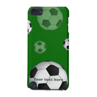 De verspreide Ballen van het Voetbal   Giften van iPod Touch 5G Hoesje
