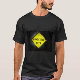 De verstopte verkeersteken van het Gebied T Shirt
