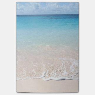 de verticaal van de strandpost-it post-it® notes
