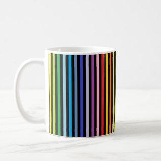 De verticale Bredere Regenboog van het Spectrum en Koffiemok