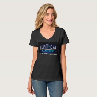 De Verticale Grens van de vrouw T Shirt