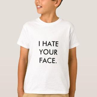 De Verticale Sjabloon van de kinder T-shirt