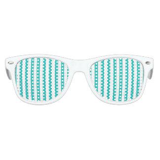 De Verticale Strepen van Aqua Kinder Zonnebril