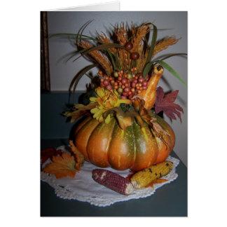 De Vertoning van de herfst, Zegen Kaart