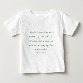 De verwante Geesten zijn niet Schaars Baby T Shirts