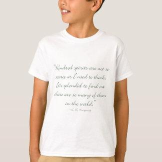 De verwante Geesten zijn niet Schaars T Shirt