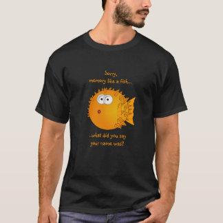 De verwarde Vissen van de Kogelvis - grappige T Shirt