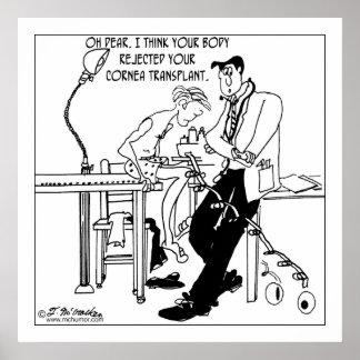 De Verwerping van de Transplantatie van het hoornv Poster