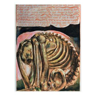 De verwezenlijking van Urizen in materiële vorm Briefkaart