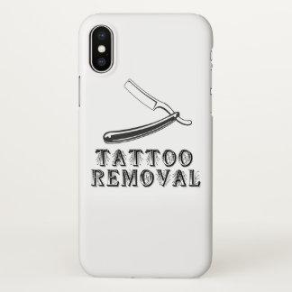 De verwijdering Iph X van het tattoo hoesje