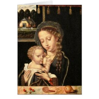 De Verzorging van Madonna en van het Kind Briefkaarten 0