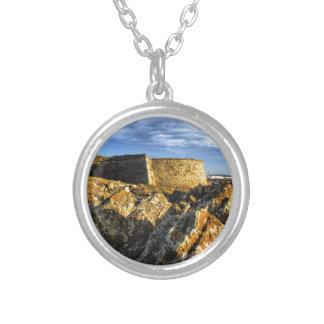 De vesting van Areosa Zilver Vergulden Ketting