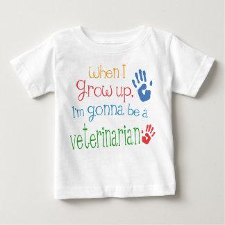 De veterinaire (Toekomstige) T-shirt van het Baby