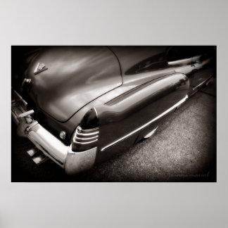 De vette Druk van het Poster van Cadillac