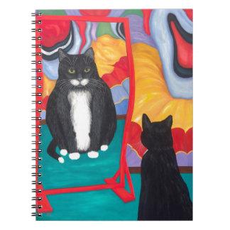 De Vette Kat van het Huis van de pret Ringband Notitieboek