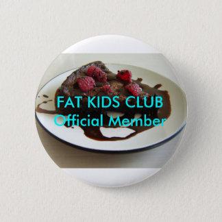 De vette Kinder Knoop van de Club Ronde Button 5,7 Cm
