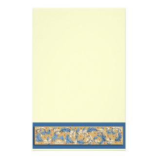 De Victoriaans Kantoorbehoeften van het Patroon Briefpapier Ontwerp