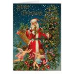 De Victoriaans Kerstkaart van de Kerstman