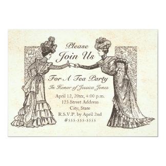 De Victoriaans Uitnodiging van Dames