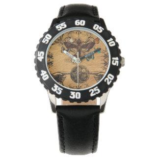 De Victoriaans Vlinder van Steampunk van Grunge Horloges