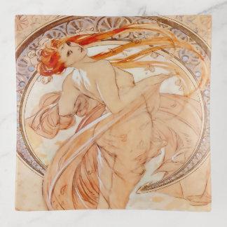 De vier Kunsten van Mucha - Dans Sierschaaltjes