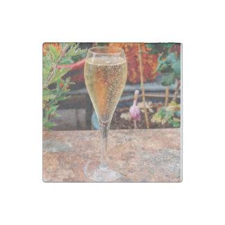 De Viering van Champagne van de herfst Stenen Magneet