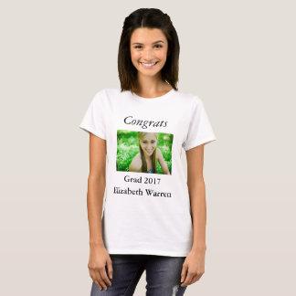 De Viering van de Foto van het afstudeerder T Shirt