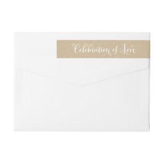 De Viering van kraftpapier van Liefde   Envelop