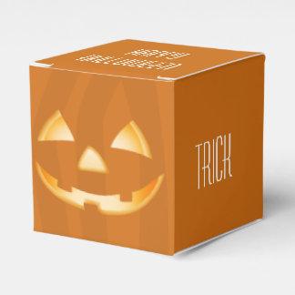 De vierkante Doos van de Gunst van Halloween van Bedankdoosjes