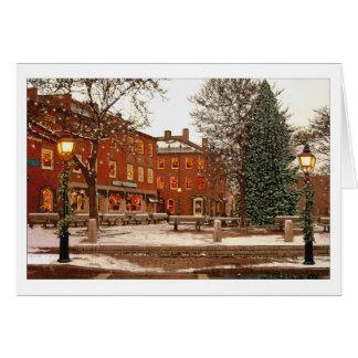 De Vierkante Kerstkaart van de markt Briefkaarten 0