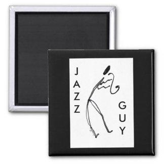 De Vierkante Magneet van de Kerel van de jazz