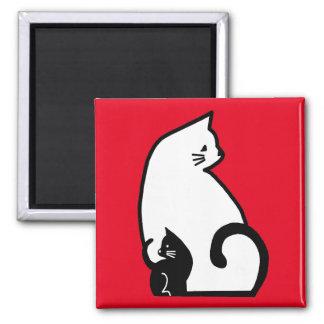 De Vierkante Magneet van katten