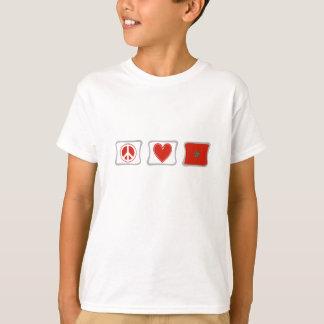 De Vierkanten van de Liefde en van Marokko van de T Shirt