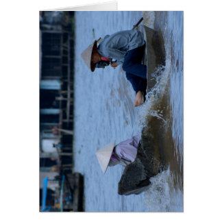 De Vietnamese Boot van de Rivier Kaart