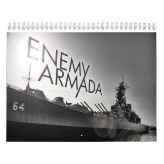 De vijandelijke Kalender 2014 van de Armada