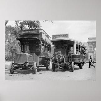 De vijfde Bussen van de Weg, 1913 Poster
