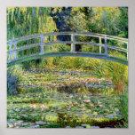 De vijver van de Waterlelie door Monet Fine Art. Poster
