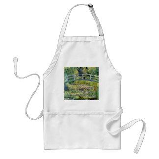 De vijver van de Waterlelie door Monet Fine Art. Standaard Schort