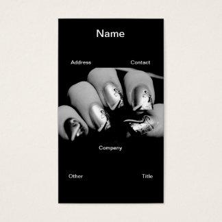 De Vingernagels van de ontwerper Visitekaartjes