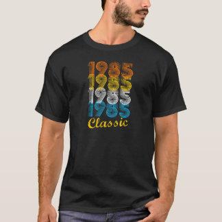 de Vintage 1985 T-shirt van de 32ste van de