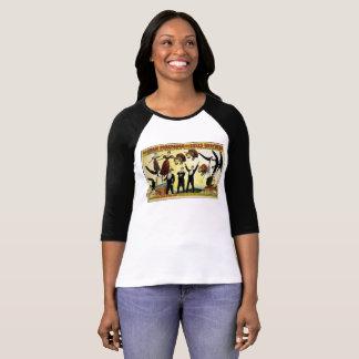 De vintage Acrobaten van het Circus van de Reclame T Shirt